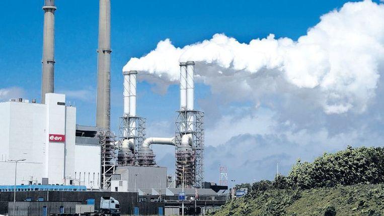Een energiecentrale op de Maasvlakte. Beeld anp