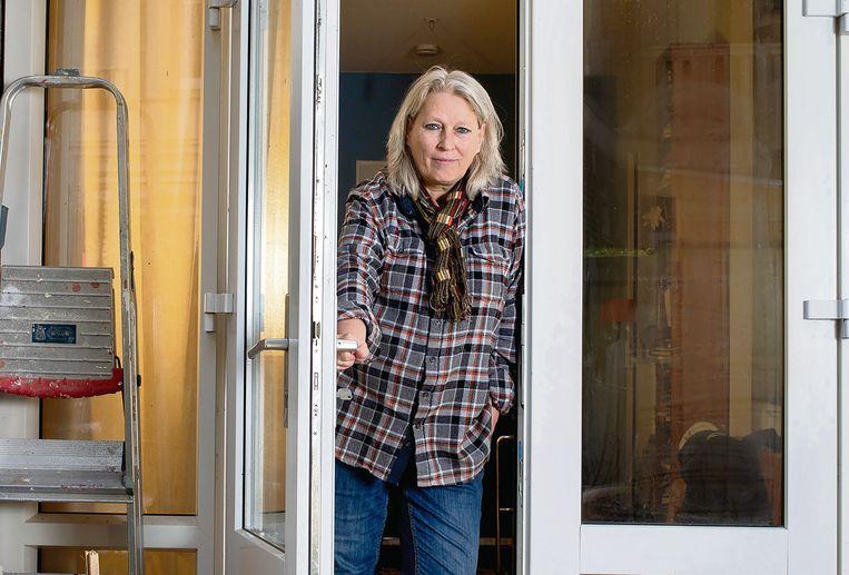 Samen door een deur als exen: Anne Salomons over haar overleden ex  Beeld Maartje Geels