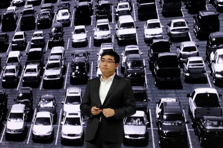 Didi-ceo en -oprichter Cheng Wei. Beeld Reuters