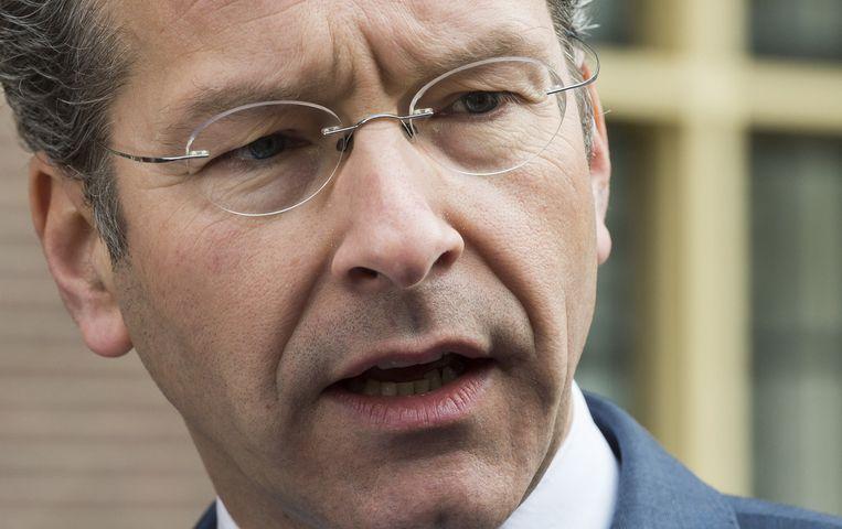 Minister van financiën Jeroen Dijsselbloem. Beeld anp