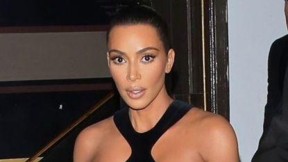 Kim Kardashian laat niets aan de verbeelding over in vintage Thierry Mugler -jurk