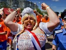 Oranjelegioen verovert harten Oekraïeners