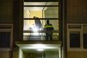 De politie doet onderzoek in meerdere woningen in Het Gooi.