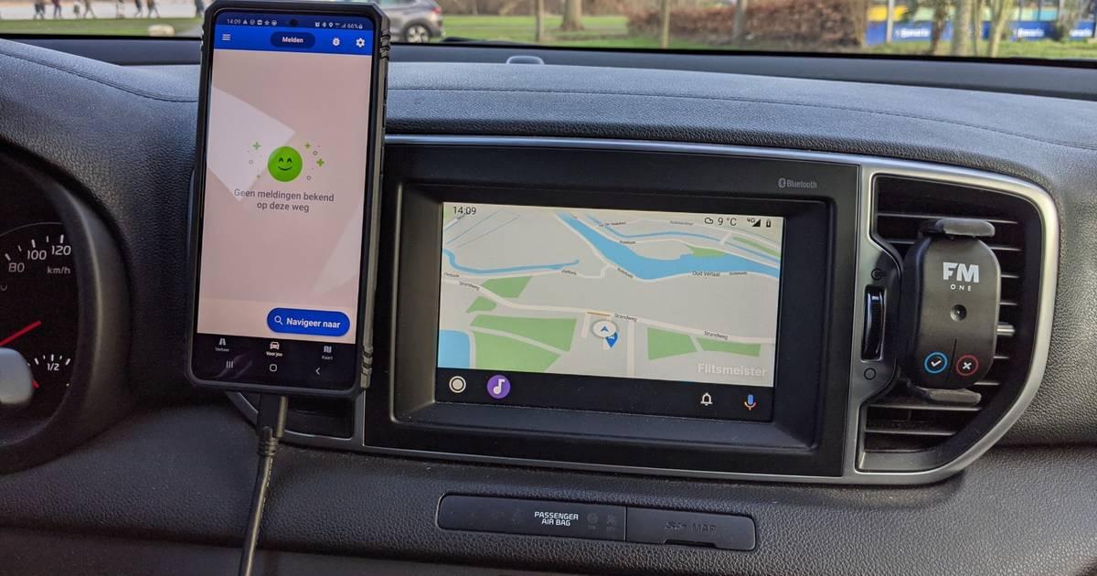 Flitsmeister nu ook in Android Auto beschikbaar - AD.nl