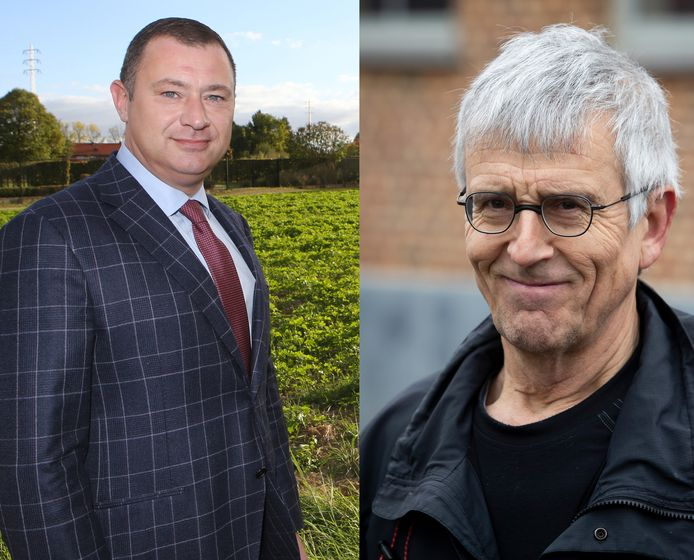Glabbeeks burgemeester Peter Reekmans staat weer pal tegenover tragewegenactivist Marc Van Damme
