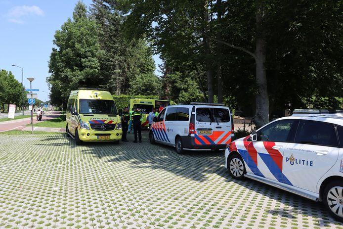 Fietser zwaargewond bij ongeluk in Kaatsheuvel.