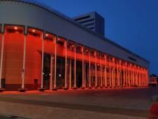 Stadskantoor kleurt oranje voor Schiedamse olympiërs