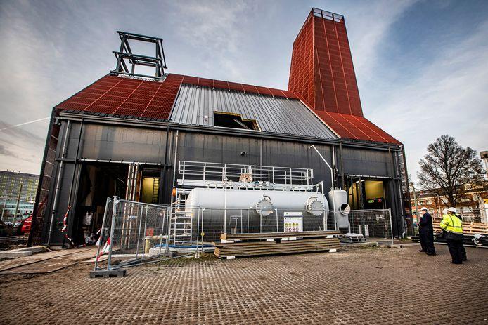 De aardwarmte-centrale aan de Leyweg in Den Haag.
