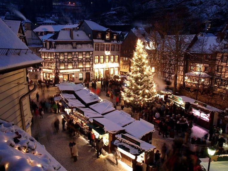 Al vanaf dit weekend kan je in Monschau genieten van de kerstsfeer.