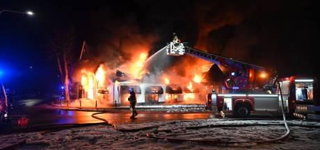 Eigenaar afgebrande bistro de Kruidentuin in Geesteren strijdbaar: 'Ik kom weer terug'