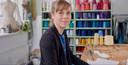 Hellen van Rees, onderzoeker aan de UT en mode-/textielontwerper.
