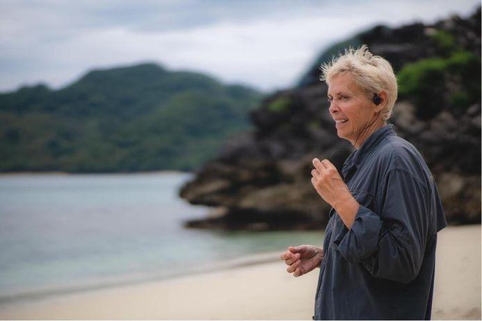 Marleen Van Moer kandidaatbegeleidster van Expeditie Robinson