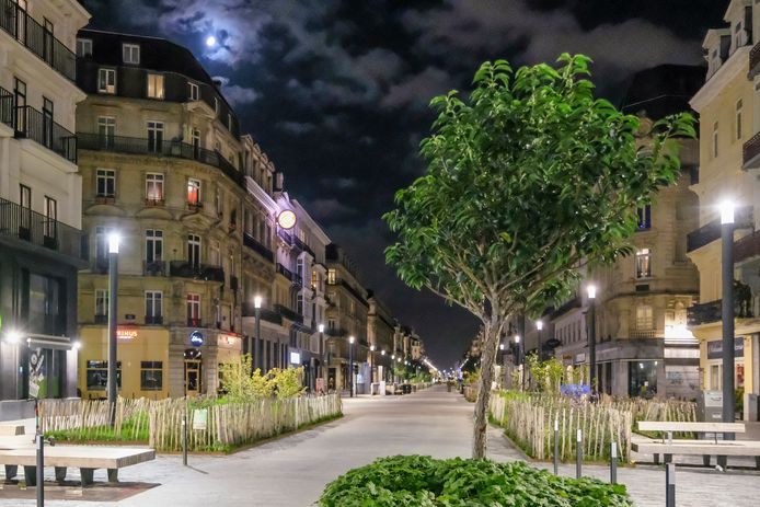 Niemand op straat in Brussel dankzij de avondklok.