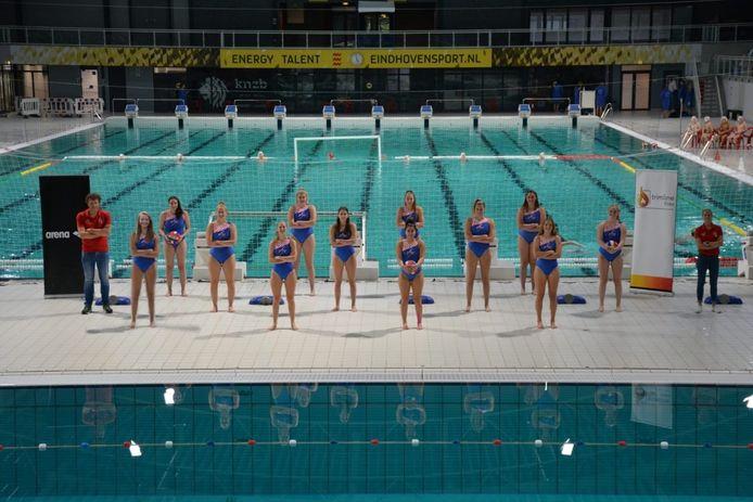Het vrouwenteam van PSV.