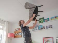 Gewichtheffen met een fauteuil - gebruik je huis als alternatieve sportschool