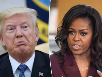 Donald Trump spot openlijk met uiterlijk Michelle Obama