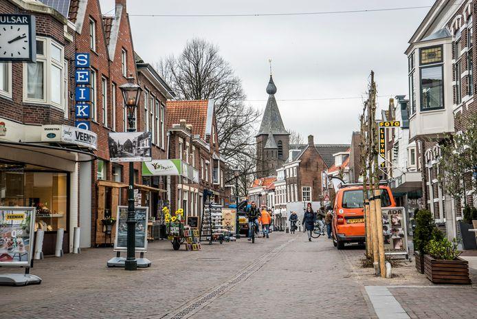 De Dorpsstraat in Zoetermeer.