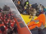 Van dichtbij: 363 migranten van Middellandse Zee gered