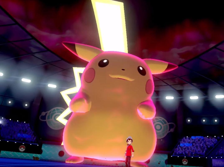 Een 'Gigantamax' Pikachu, een nieuwe toevoeging aan Pokémon.