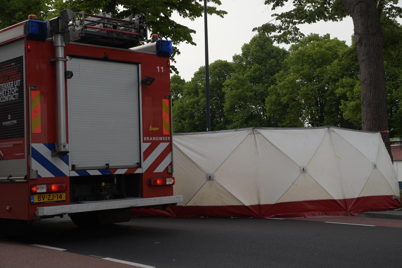 Dodelijk ongeval Academiesingel Breda.