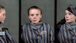 Ingekleurd portret van meisje (14) dat werd vermoord in Auschwitz ontroert en confronteert