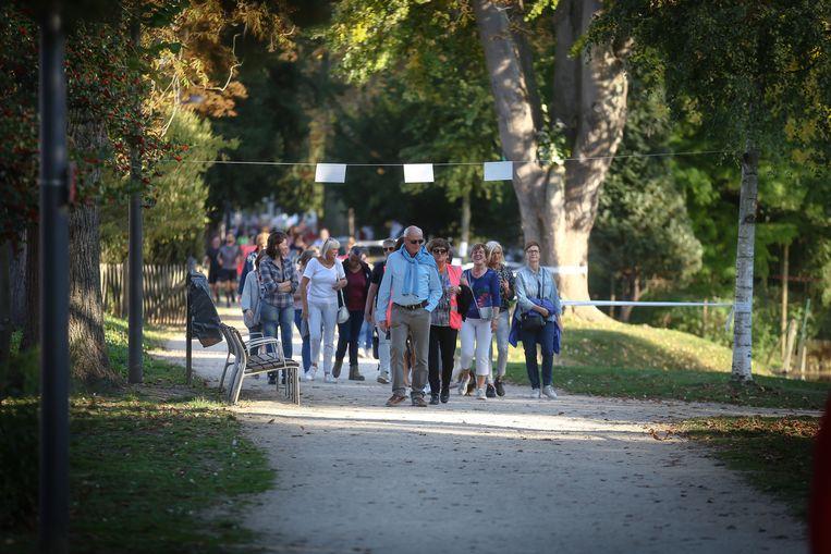 Levensloop Sint-Truiden in het stadspark