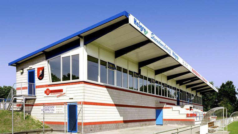 Het clubgebouw van de club. Beeld Buursemabouw.nl
