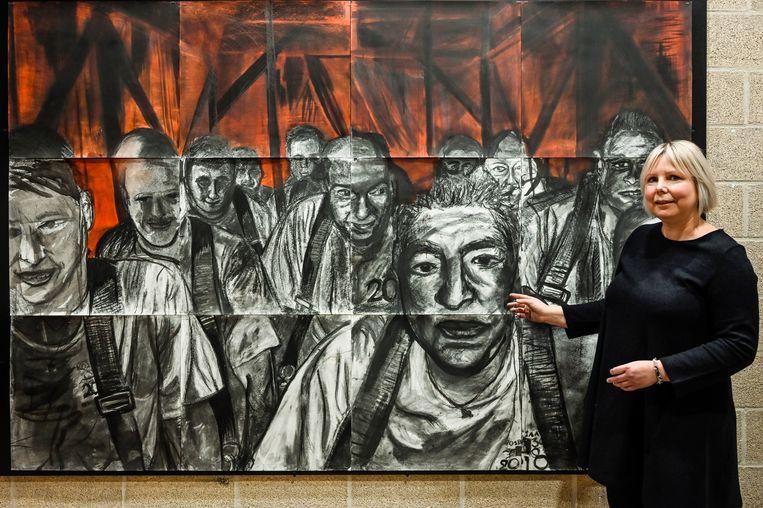 Een groot werk van de Pijnders onder het Ros Beiaard, was voor leerkracht Evy Bosman inspiratie voor het volgende project.