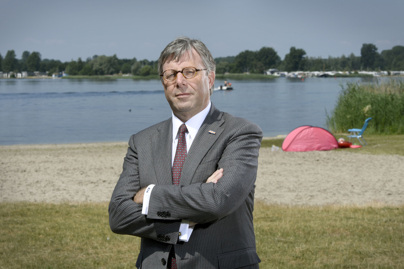 Wethouder Hans de Haan van de gemeente Ermelo.