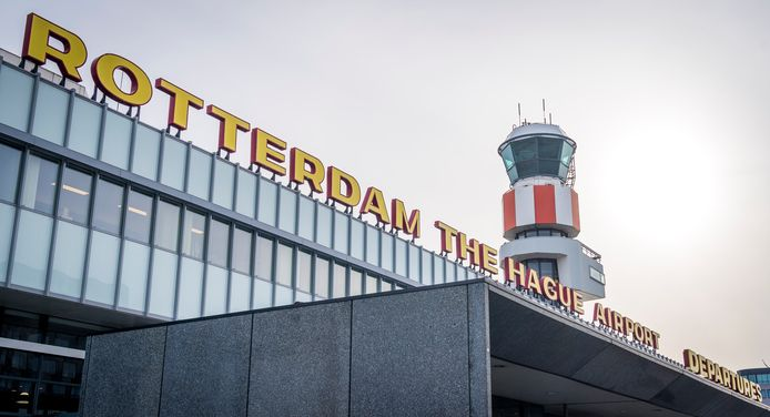Rotterdam The Hague Airport.