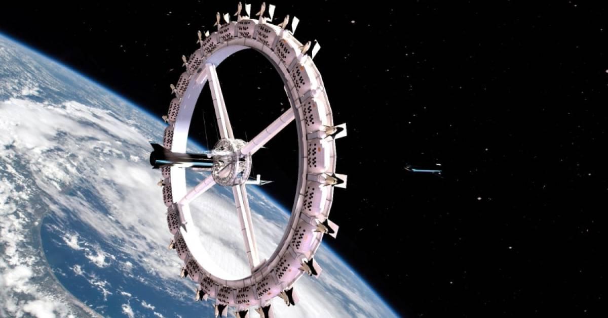 Spectaculair uitzicht op de maan en de aarde: in 2027 opent eerste ruimtehotel vol luxe - AD.nl