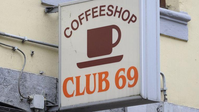 Coffeeshop in Maastricht Beeld anp
