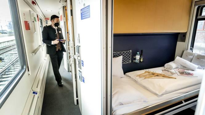 Nieuwe nachttrein van Brussel naar Berlijn krijgt ook stops in Amsterdam en Praag