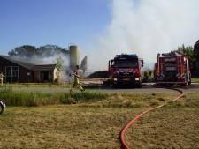 Duizenden kippen komen om bij schuurbrand in Gelderland