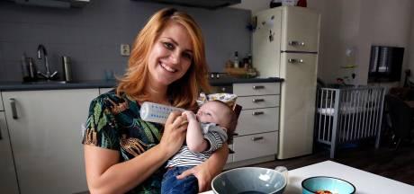 Julia voedt haar baby Thijs vegetarisch op: 'Later mag hij zelf bepalen'