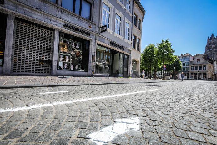 De pijlen in de Steenstraat volgen, zal mogelijk tot het verleden behoren.