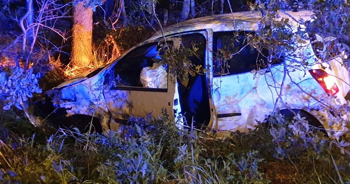 Automobilist gewond bij eenzijdig ongeval op A35 bij Borne.