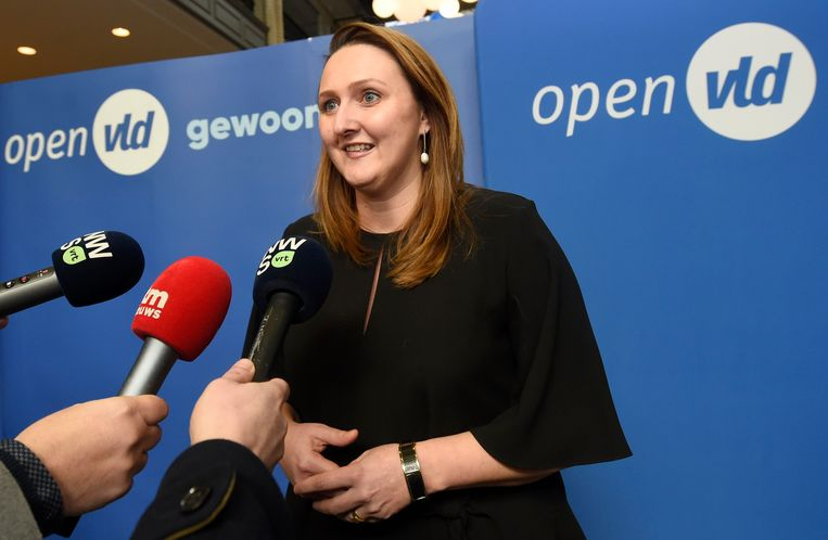 Open Vld-voorzitter Gwendolyn Rutten Beeld Photo News