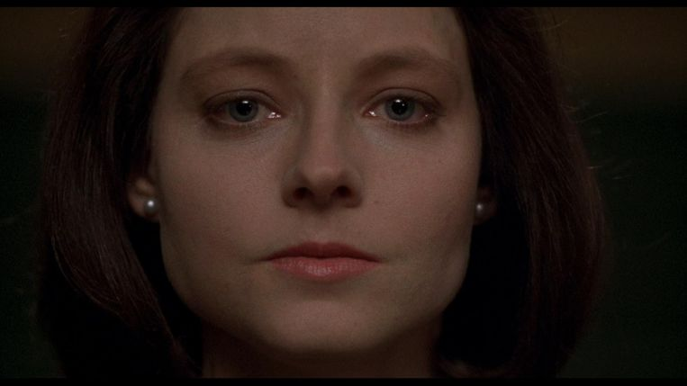 Jodie Foster in The Silence of the Lambs. Beeld