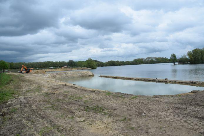 Het wordt een nieuw stukje natuurgebied, het voormalige strandje van de Oostplas in Goirle.