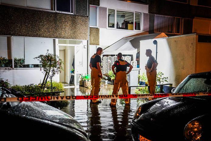 Sinkholes ontstonden in voortuinen in Eindhoven
