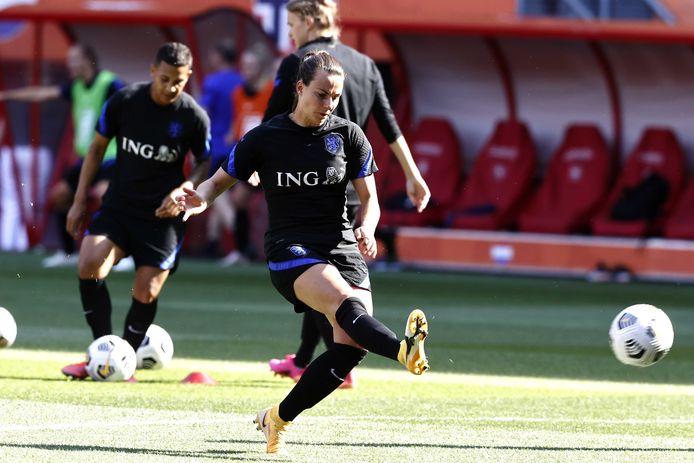 Renate Jansen van FC Twente staat voorlopig op de reservelijst.