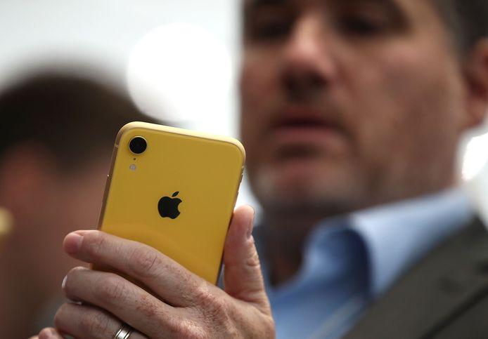 Illustratiefoto: Apple iPhone Xr.