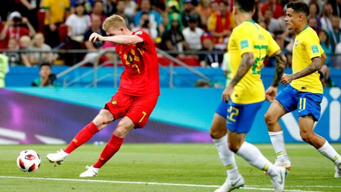 De legendarische goal van Kevin De Bruyne tegen WK-favoriet Brazilië in 6 fases