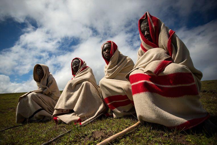 Xhosa in Qunu. Beeld getty