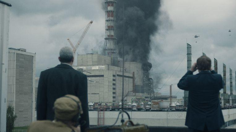 De HBO-reeks 'Chernobyl' zal allicht op het nieuwe platform te zien zijn. Beeld HBO
