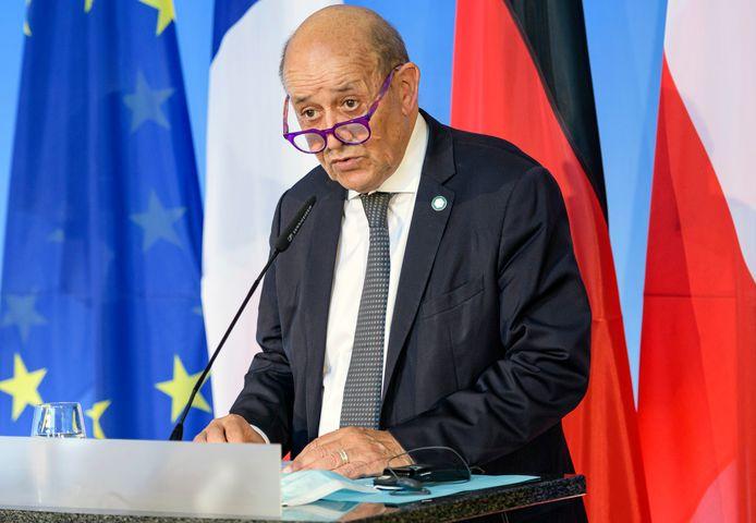 Jean-Yves Le Drian, le ministre français des Affaires étrangères.