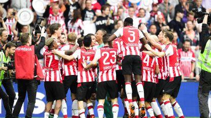 FT buitenland 15/04: PSV pakt de titel in Nederland - Juventus loopt uit op Napoli - Denayer weer op kop met 'Gala'