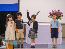 Iedereen is welkom op de Japanse school, als je maar Japans spreekt