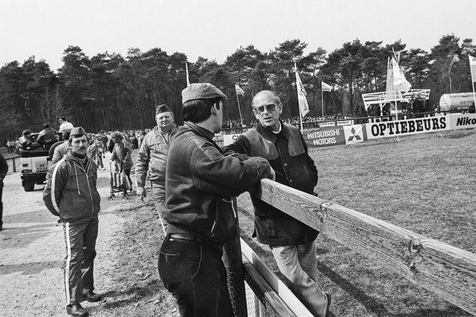 Prins Philip bezocht in 1986 de vierspanwedstrijden in Deurne